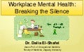 Workplace Mental Health (WMH)