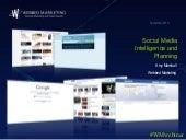 Webbed Webinar: Social Media Intelligence and Planning
