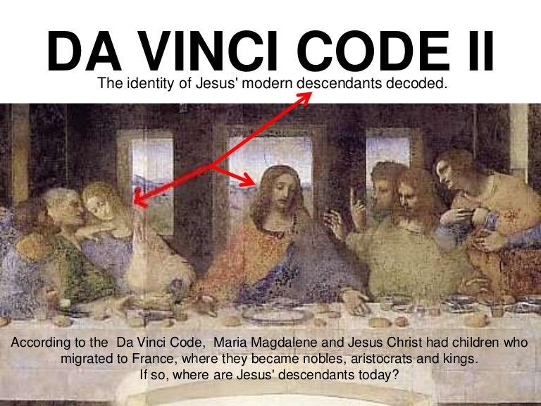 Mandela Jesus And The Da Vinci Code