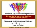 Westside Neighborhood School Inclusive Classroom Practices