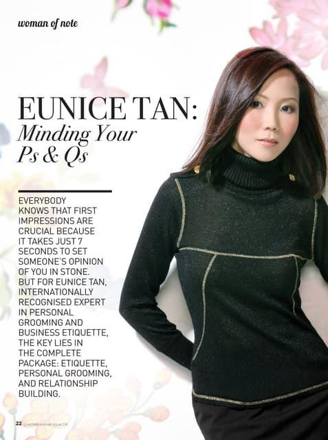 Woman Of Note: Eunice Tan