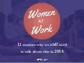 Women at Work: 11 Reasons Why We Still Need to Talk About This in 2014 - #NotEqualYet