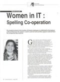 An opinion article on Women in IT by Shivi Kalia, Director - HR in Business Manager magazine