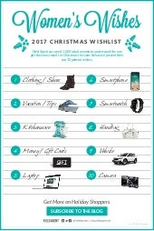 Women's Wishes - 2017 Christmas Wishlist