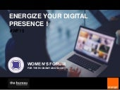 Energize your digital presence #WF15