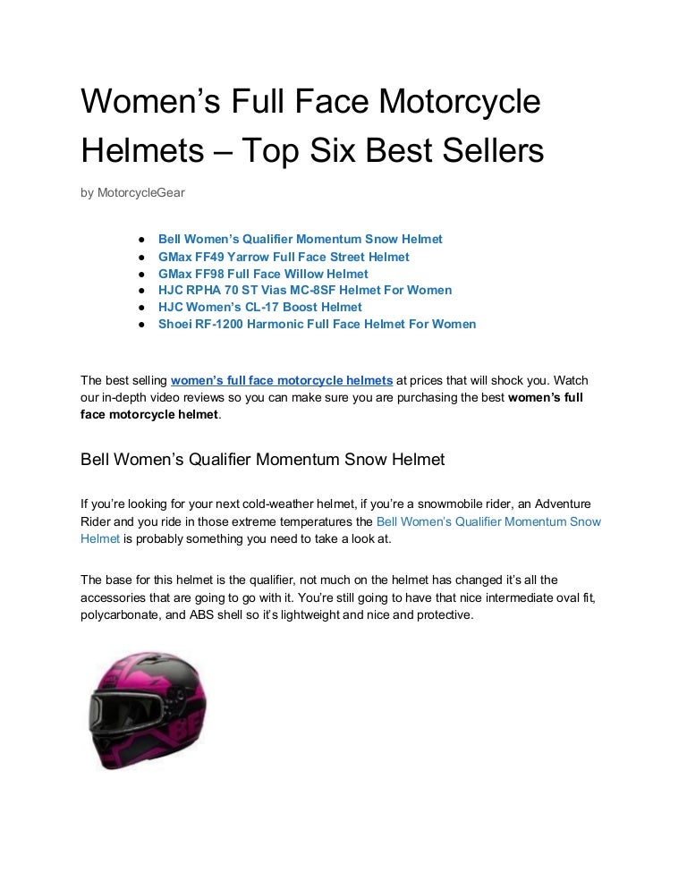 Gmax FF-98 Full Face Riding Motorcycle Street Helmet