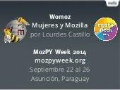 Womoz Launch Paraguay