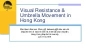 Visual Resistance and the Umbrella Movement in Hong Kong
