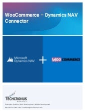 Woocommerce nav connector solution