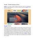 Woodie   flexible wordpress theme