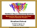 Woodland School Inclusive Classroom Practices