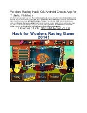 Woolers racing hack ios android cheats app for tickets potatoes