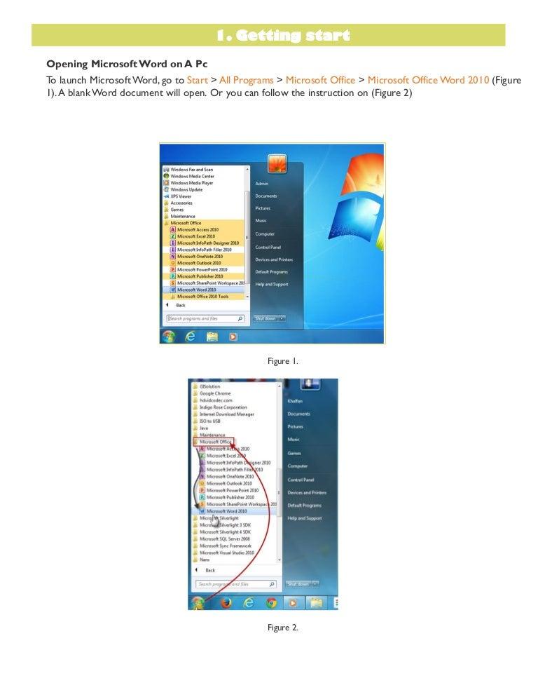 Tutorial para el uso práctico de microsoft word 2010. Introducción a….