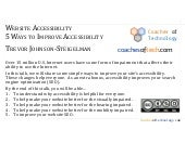 Wordcamp rochester-2017-accessibility-johnson-steigelman