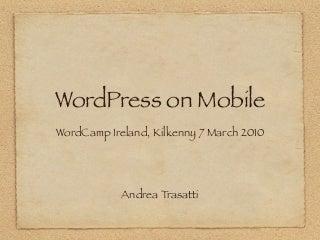 WordPress on Mobile