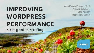 Improving WordPress Performance with Xdebug and PHP Profiling
