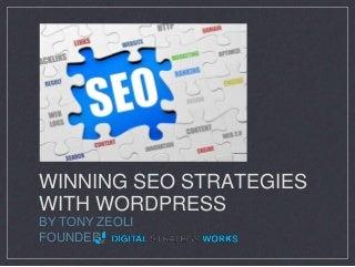 WordCamp Hampton Roads: Winning SEO Strategies with WordPress