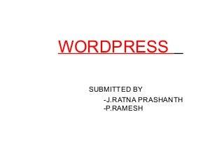 Word Press