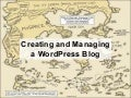 Creating and Managing a WordPress Blog