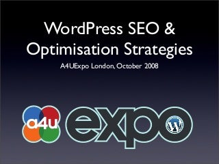 WordPress SEO & Optimisation