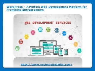 Word press a perfect web development platform