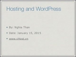 Word press Meetup on January 2015