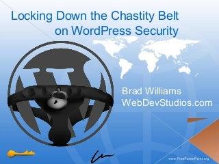 WordPress Security - WordCamp NYC 2009