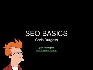 WordPress SEO Basics - Melbourne WordPress Meetup
