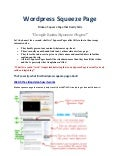 Wordpress Squeeze Page Theme