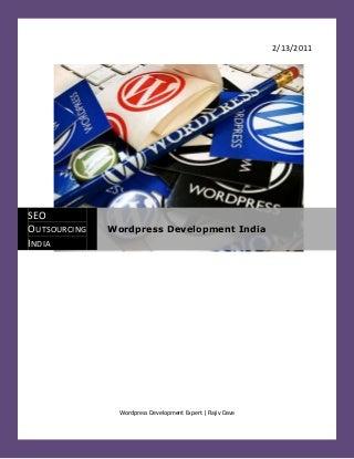 Wordpress development india - WordPress Development Expert - WordPress Development India - WordPress CMS Development - Hire WordPress Developer