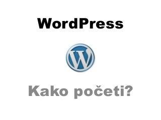WordPress For Beginners - Serbian Version