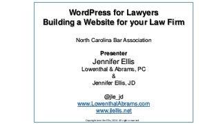Basics - Setting up a WordPress Site