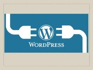 Wordpress plugin creation_overview