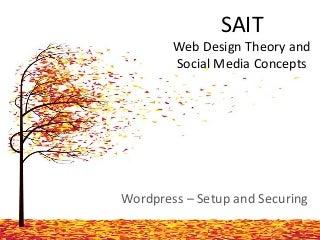 Presentation to SAIT Students - Dec 2013