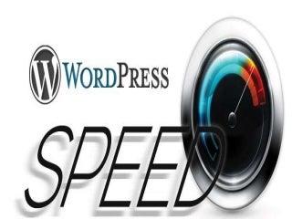 Speed up your wordpress website in 24 hours