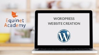 WordPress Website Creation Training Course Slides