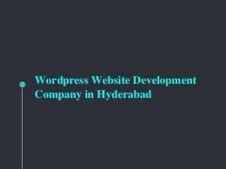 WordPress Website Development Services - Saga Biz Solutions
