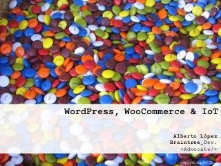 WordPress, WooCommerce e IoT