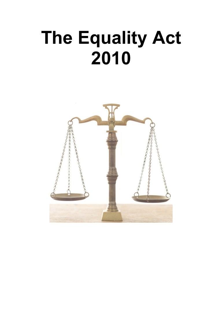 Workbook equality act 2010