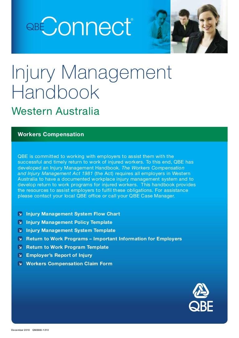 Workers Compensation Injury Mngt Handbook Wa