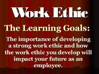 Work Ethic | LinkedIn Work Ethic
