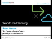 Peter Howes - Workforce Analytics and Planning