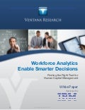 Workforce Analytics enable smarter decisions