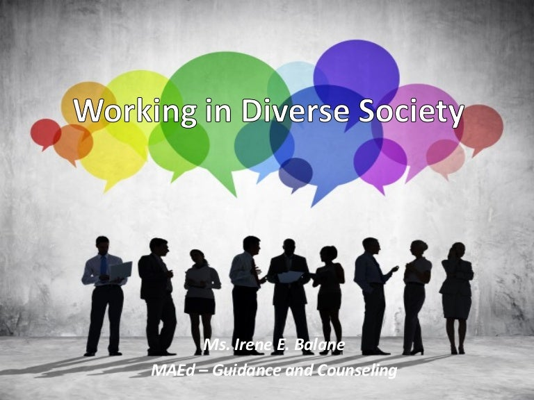 advantages of diversity in society