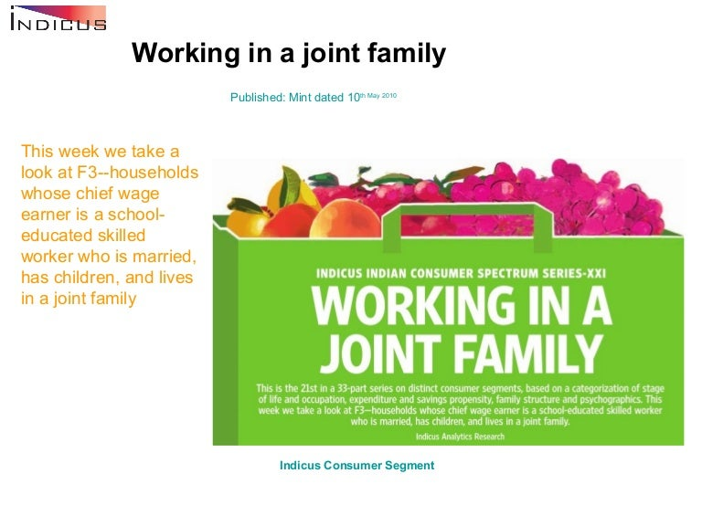 Working In A Joint Family