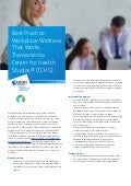 Best Practice: Workplace Wellness that works, Transamerica Center of Health Studies