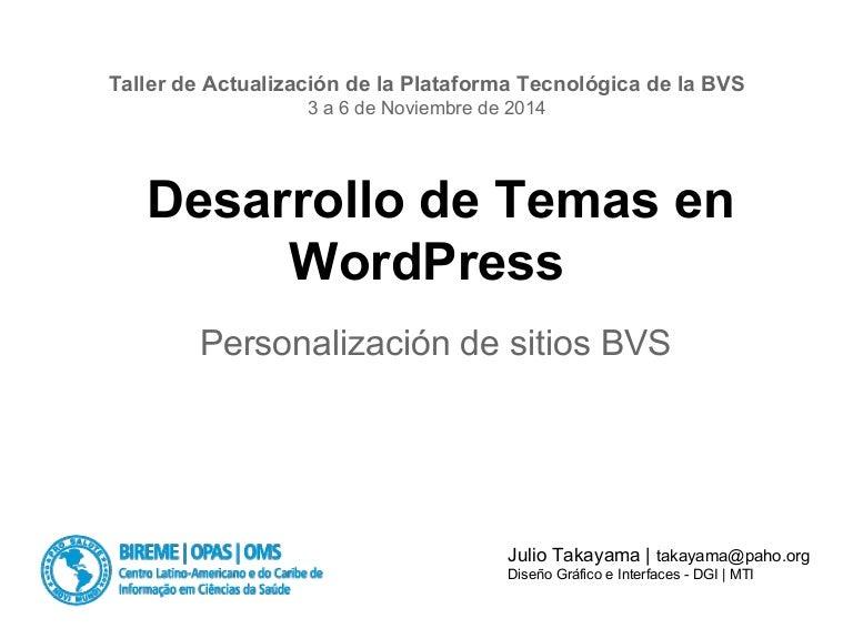 El funcionamiento del WordPress Themes y las posibilidades de persona…