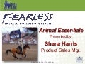 Animal Essentials Workshop