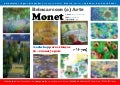 workshop Brincar com (a) Arte | Pintores Famosos (Monet)
