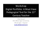 Digital Portfolio Workshop